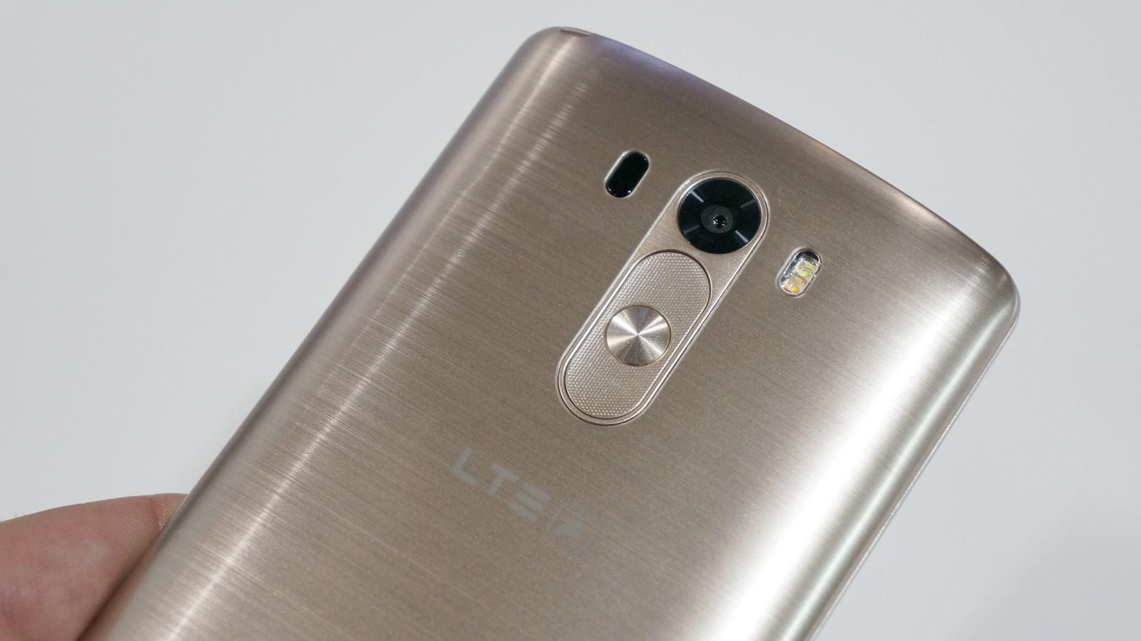 LG G3 zezadu