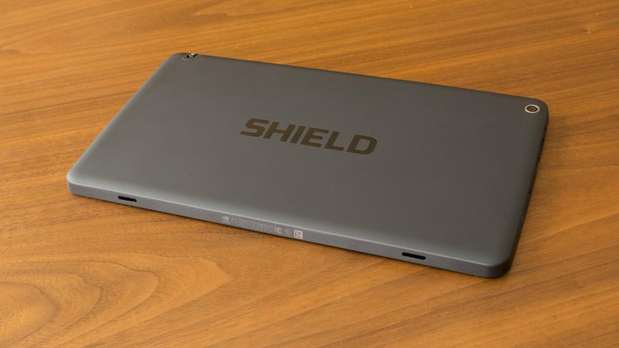 Nvidia Shield tablet - zadní strana