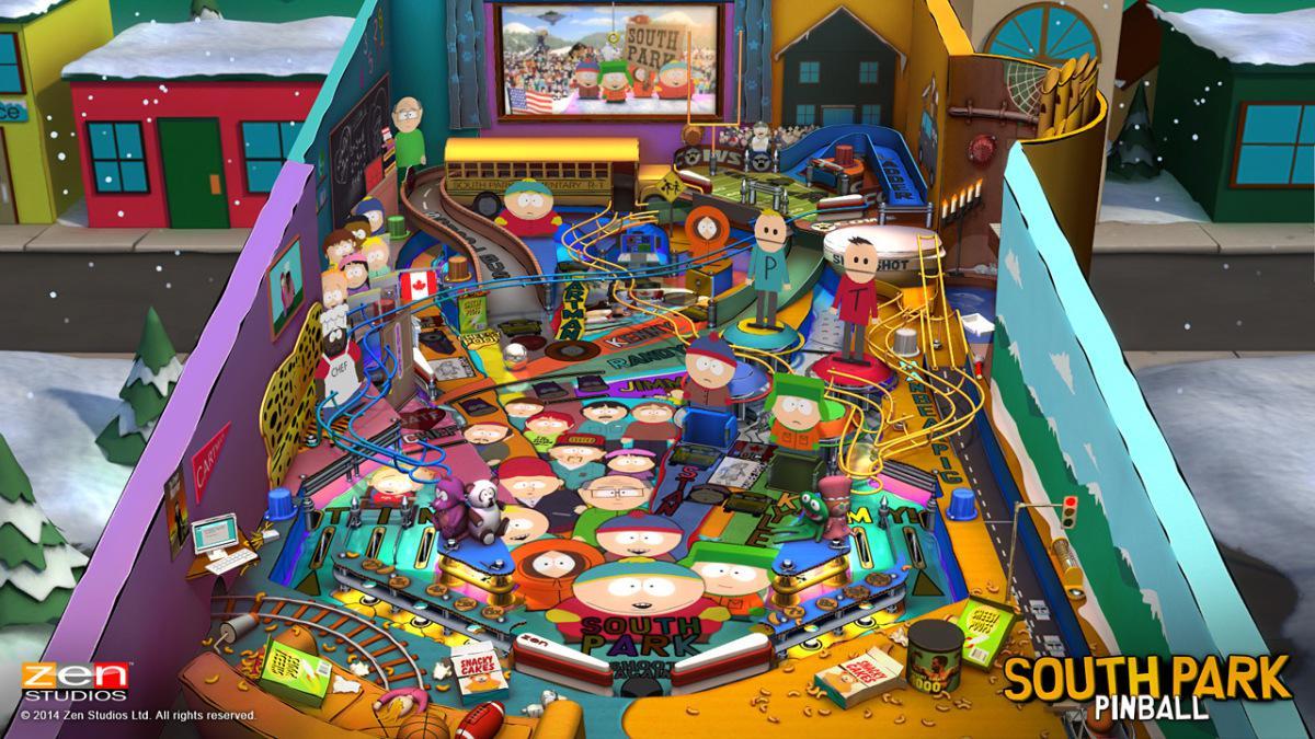 South Park Pinball - dva nové stoly pro Zen Pinball 2