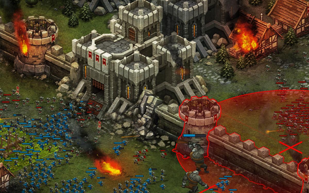 Throne Rush je perfektní strategickou hrou pro android