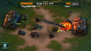 Dobrý zásah v android hře Global Assault