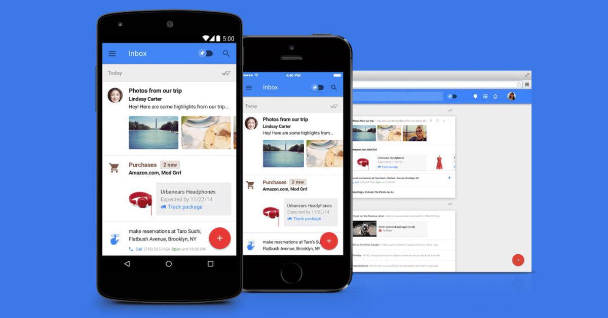 Inbox by gmail - nová emailová revoluce ve vaší příchozí poště