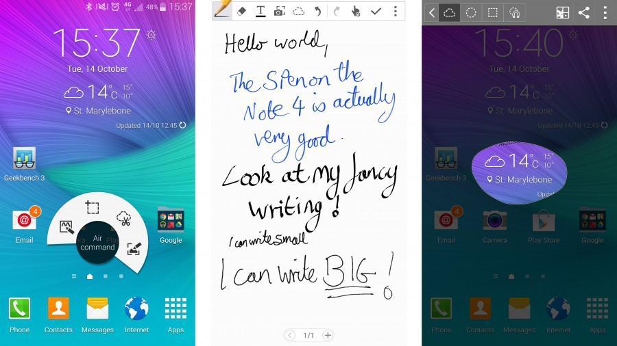 Note 4 S-pen 2