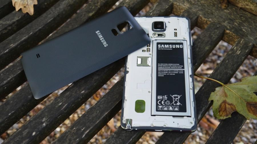 Note 4 baterie