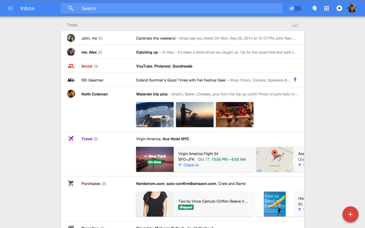 Nový Inbox od googlu - emailová revoluce