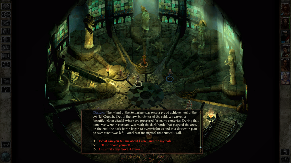 RPG hra Icewind Dale Enhanced Edition na Android