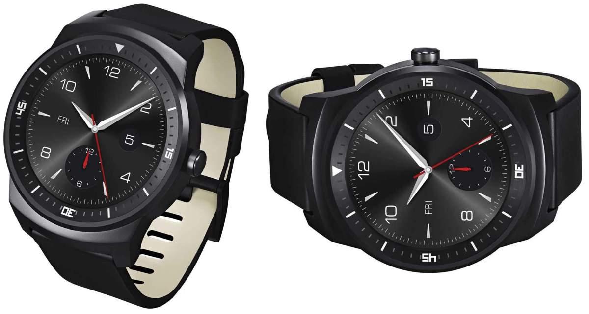 Chytré hodinky LG G Watch R se systémem Android Wear