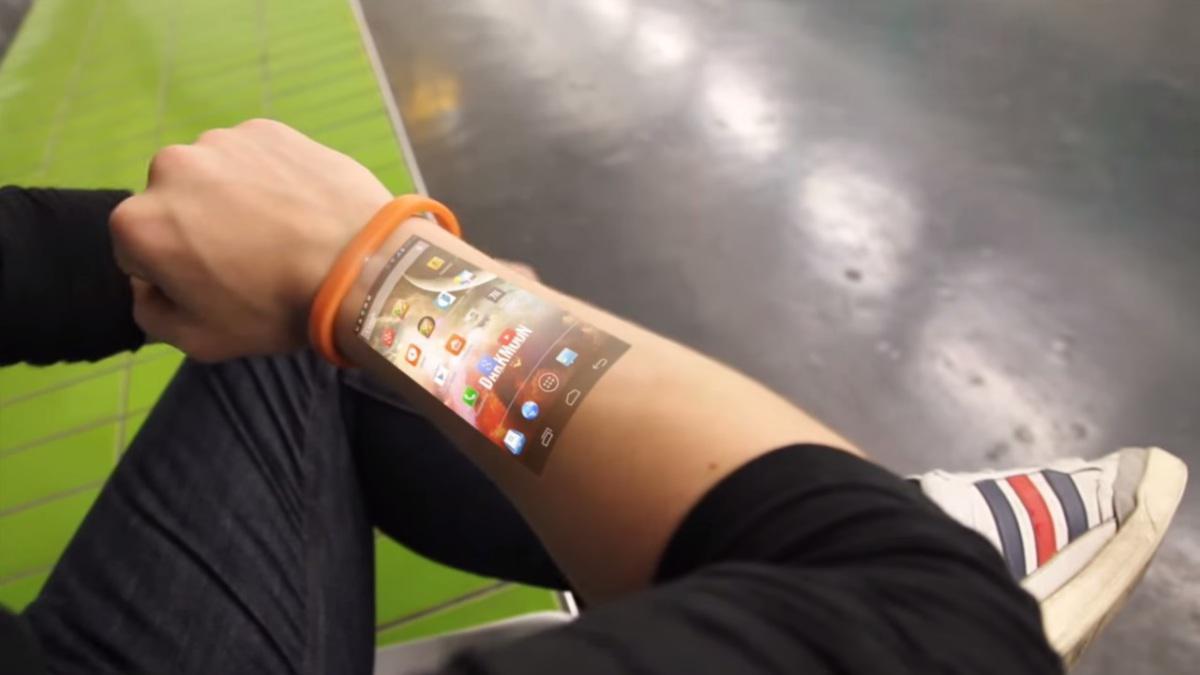 Cicret je chytrým náramkem budoucnosti - promítne obrazovku vašeho android telefonu na kůži