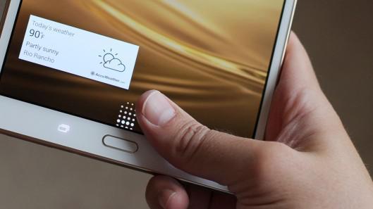 Galaxy S8.4 čtečka