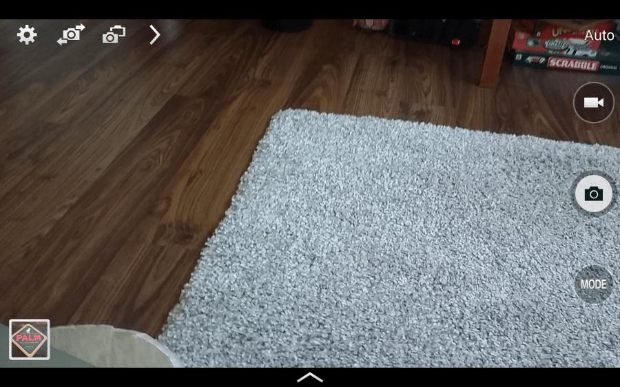 Galaxy S8.4 prostředí fotoaparátu