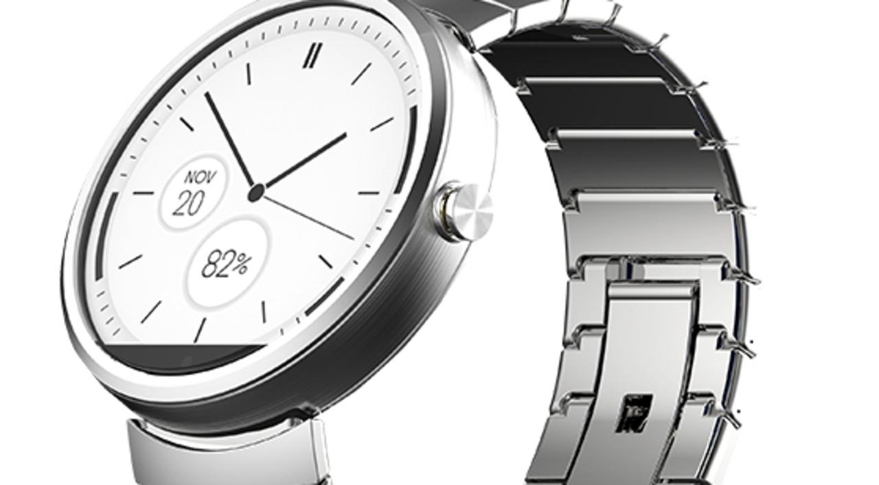 dbffb1fb96b Recenze) Chytré hodinky Motorola Moto 360 od Motoroly - obstojí Moto ...