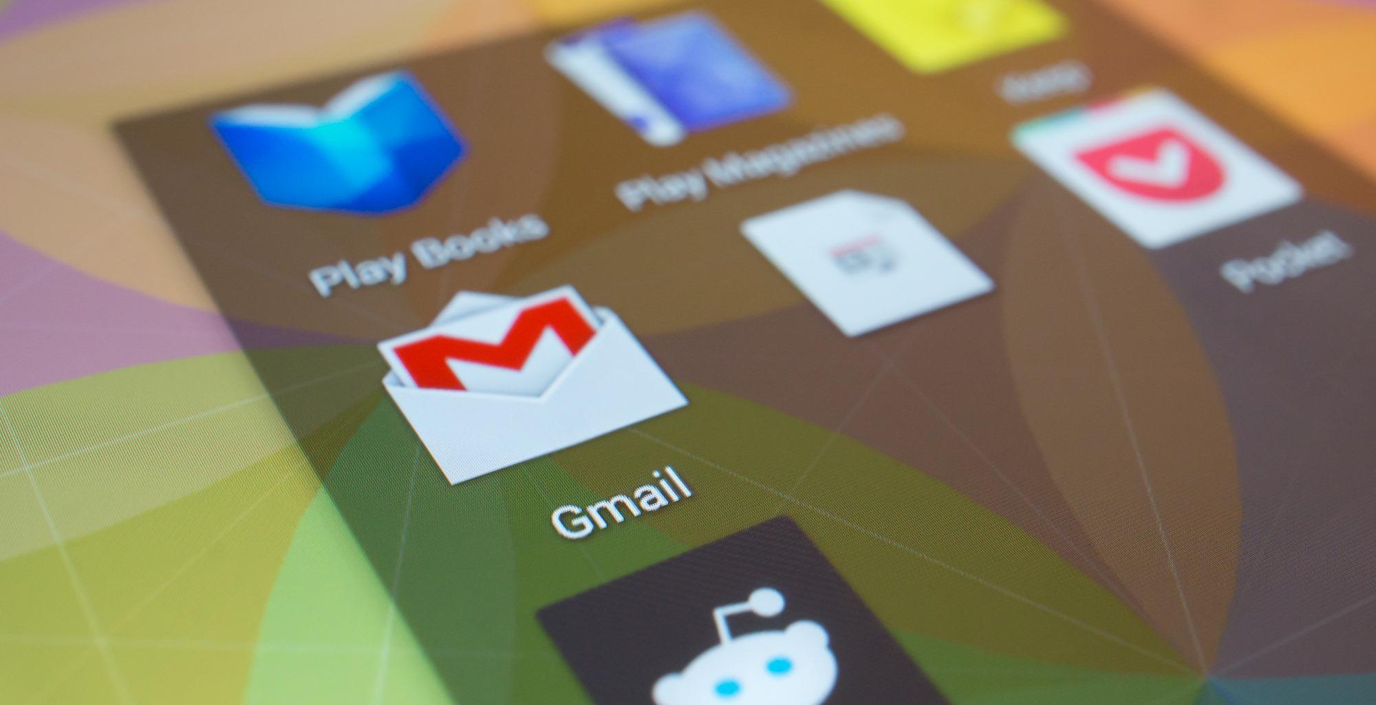 Nexus 2 gmail