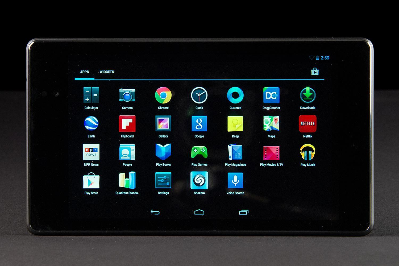 Nexus 2 menu