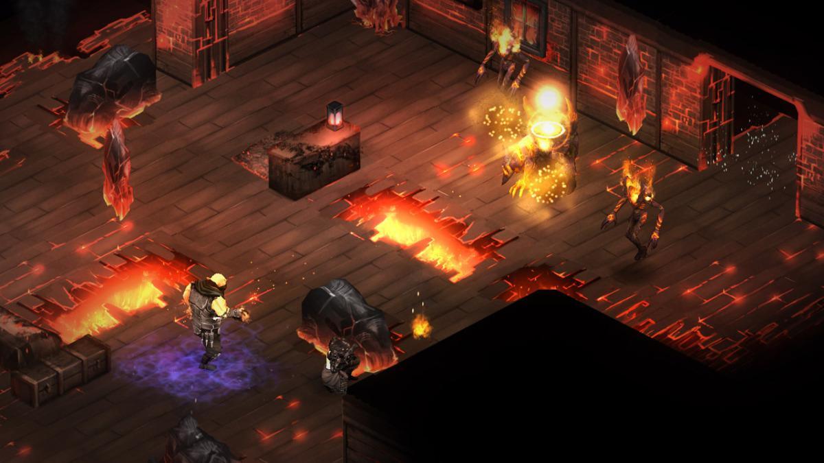 Shadowrun Dragonfall DC je taktická RPG hra na Andrpid