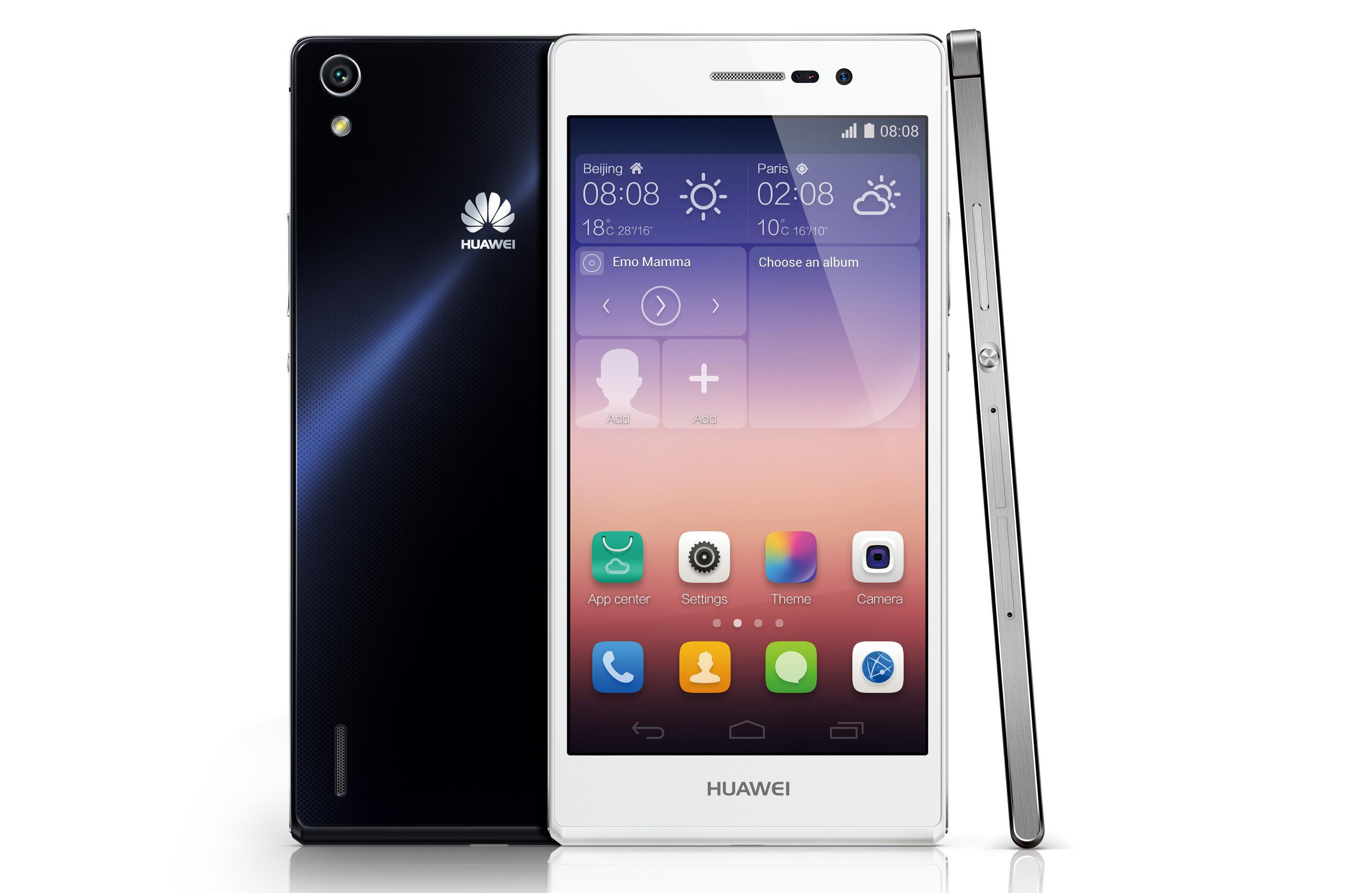 8. Huawei Ascend P7