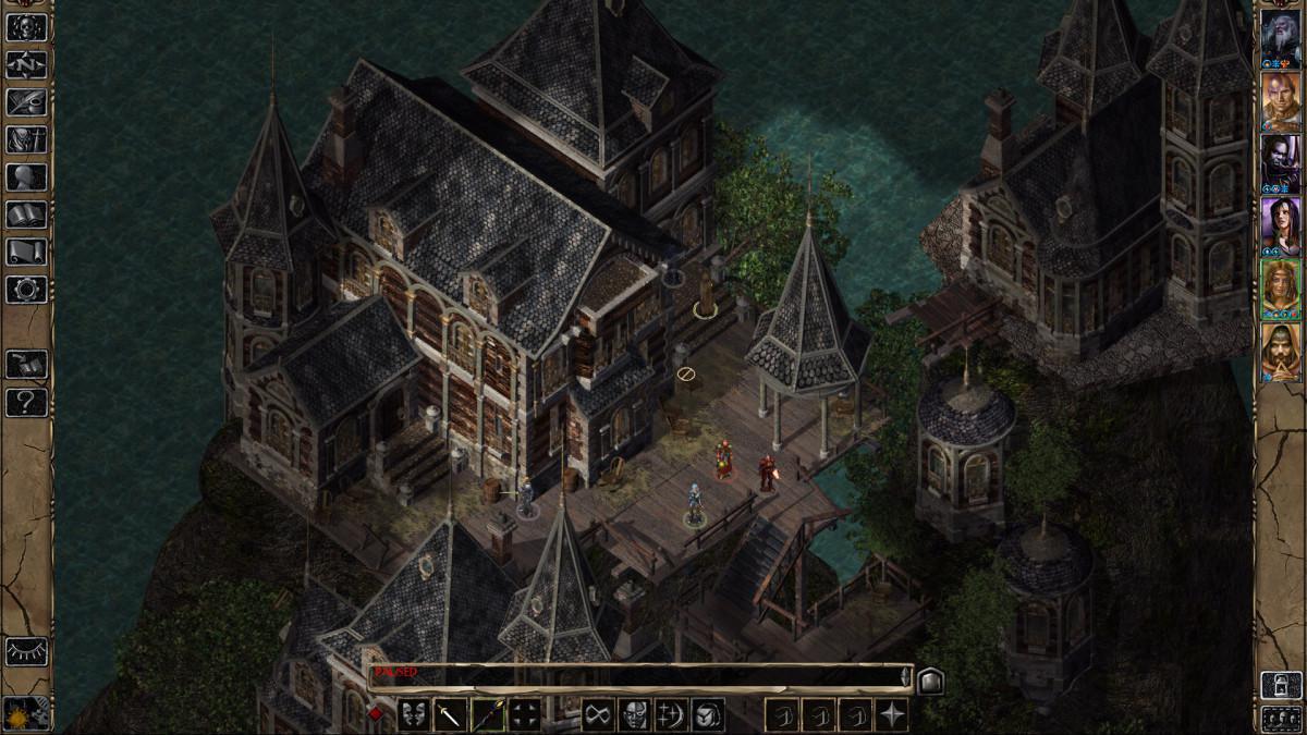 Baldurs Gate II - vynikající RPG přichází na nadroid