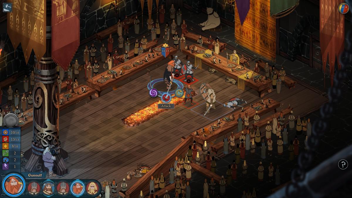 Banner Saga - unikátní příběhové taktické RPG