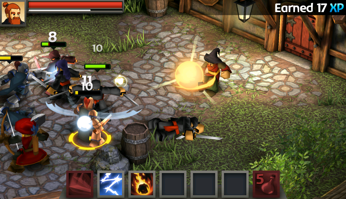 Battleheart Legacy - úžasná RPG hra s pohádkovou grafikou