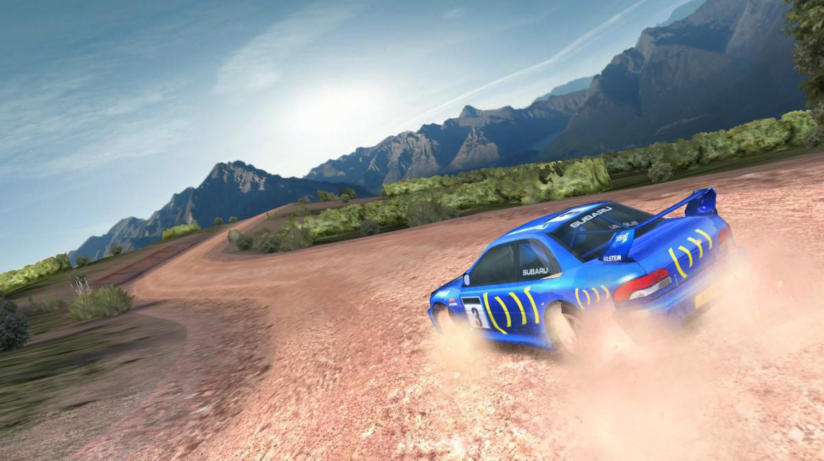 Colin McRae Rally - výborné rallye závody na android tablety