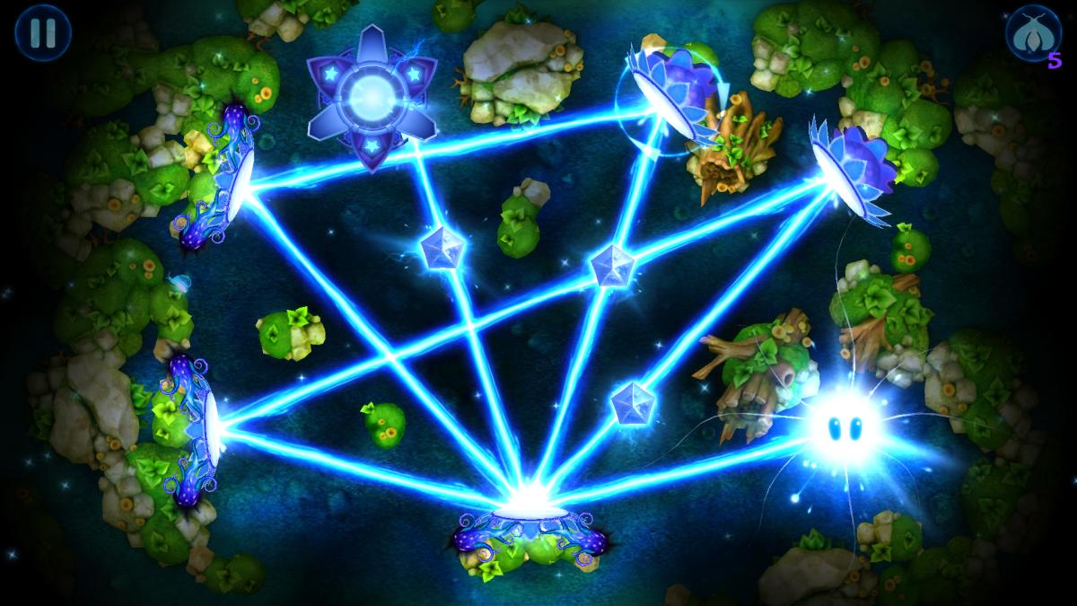 God of Light - originální logický hra se světlem a zrcadly