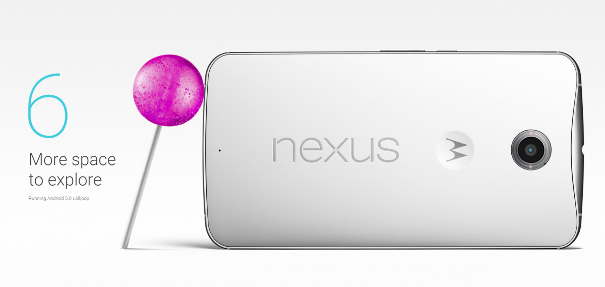 Google Nexus 6 Lollipop