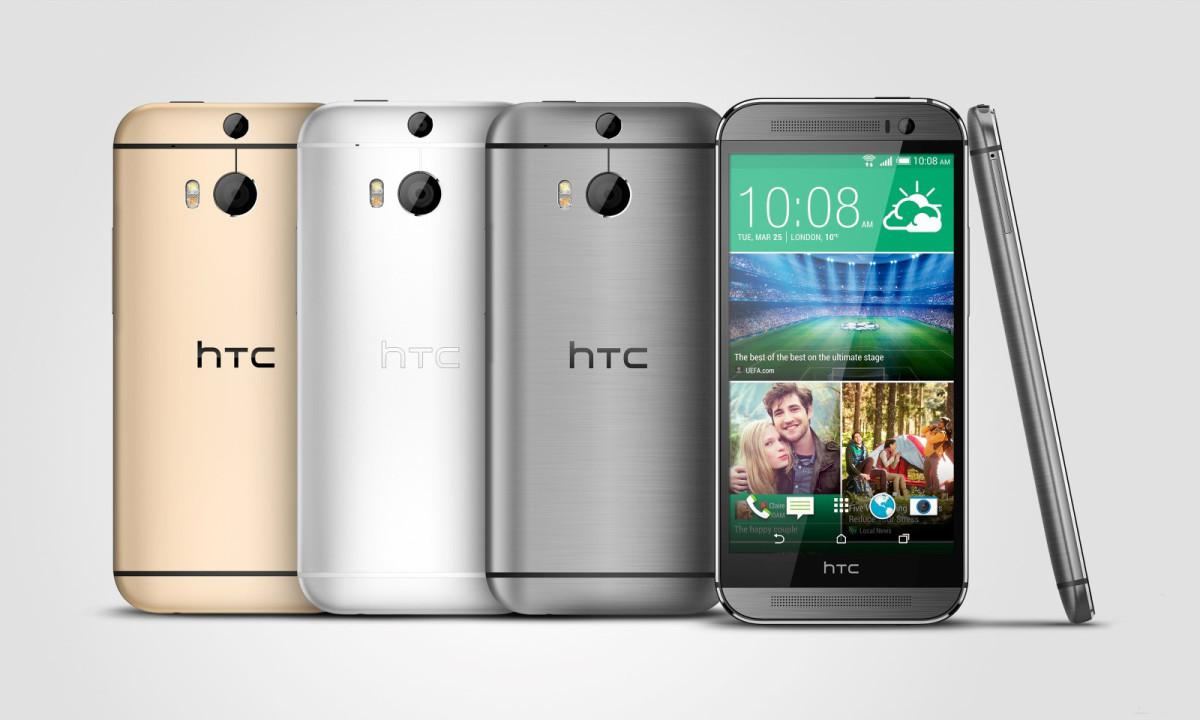 HTC One M8 varianty