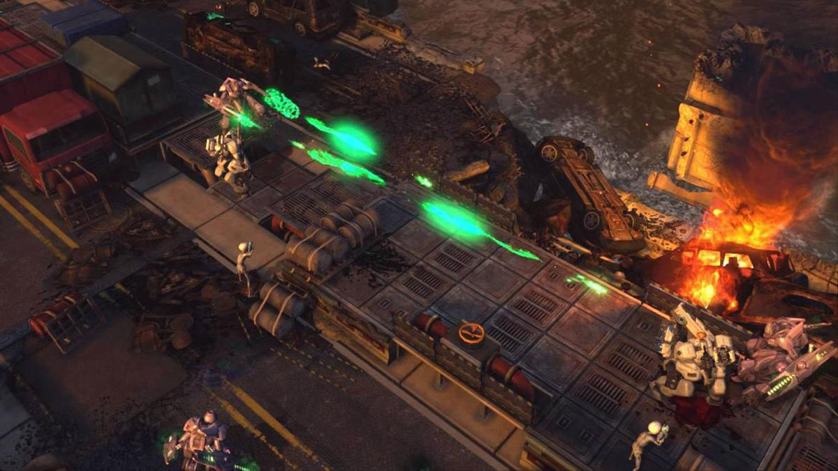Nový expansion pack taktické android hry Xcom Enemy Within
