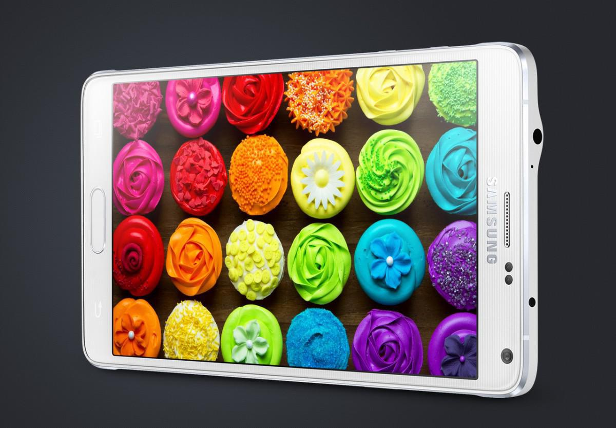 Samsung Galaxy Note 4 displej