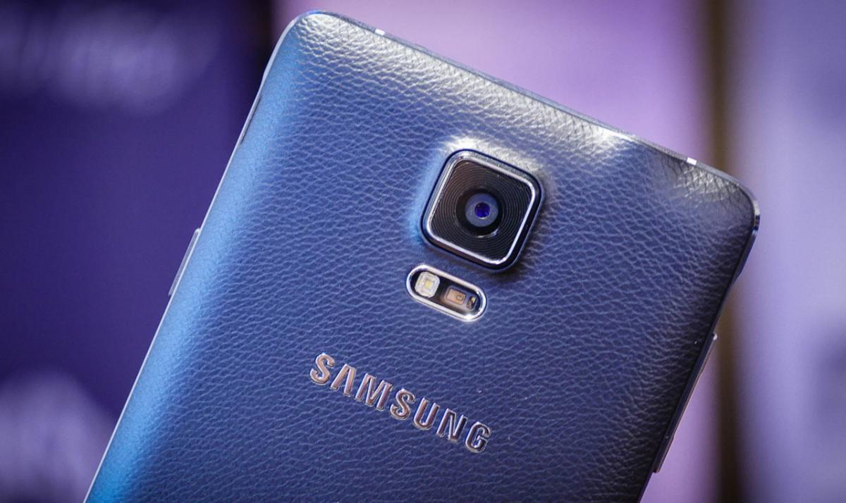 Samsung Galaxy Note 4 fotoaparát