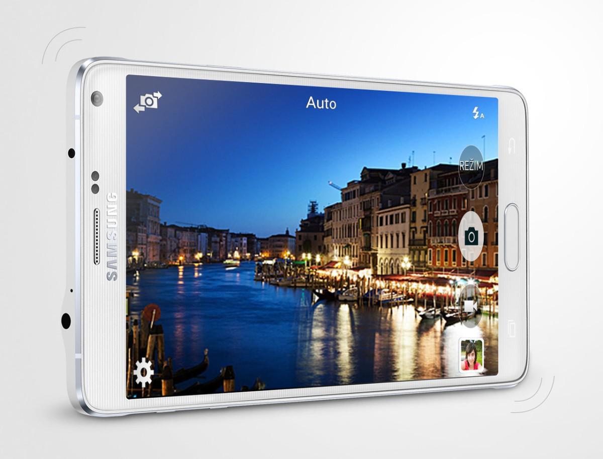 Samsung Galaxy Note 4 fotografická aplikace
