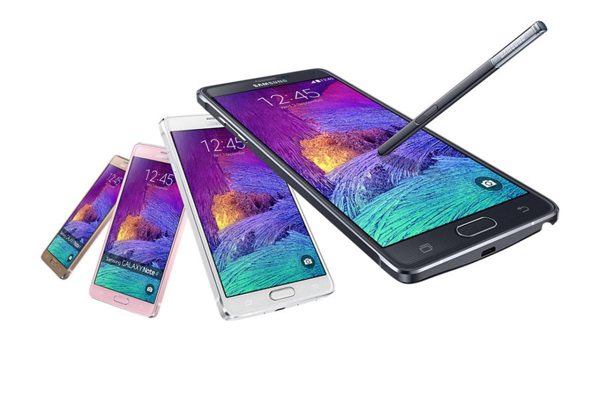 Samsung Galaxy Note 4 varianty