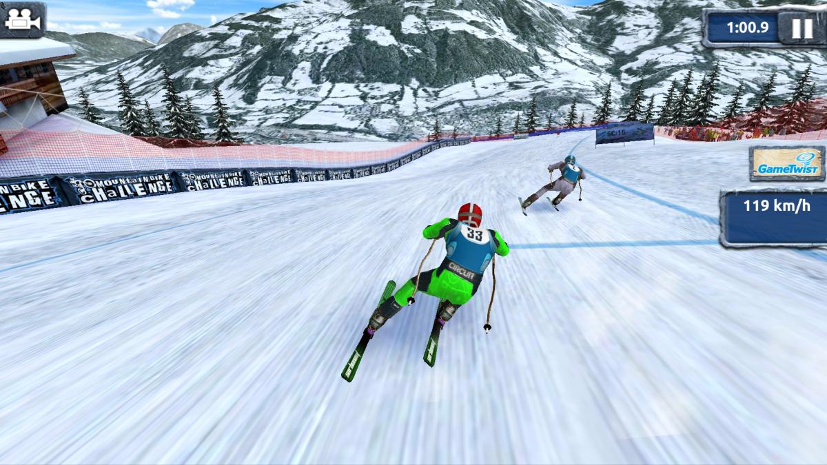 Ski Challenge 15 - sjezdové lyžování kralující kategorii zimních sportů