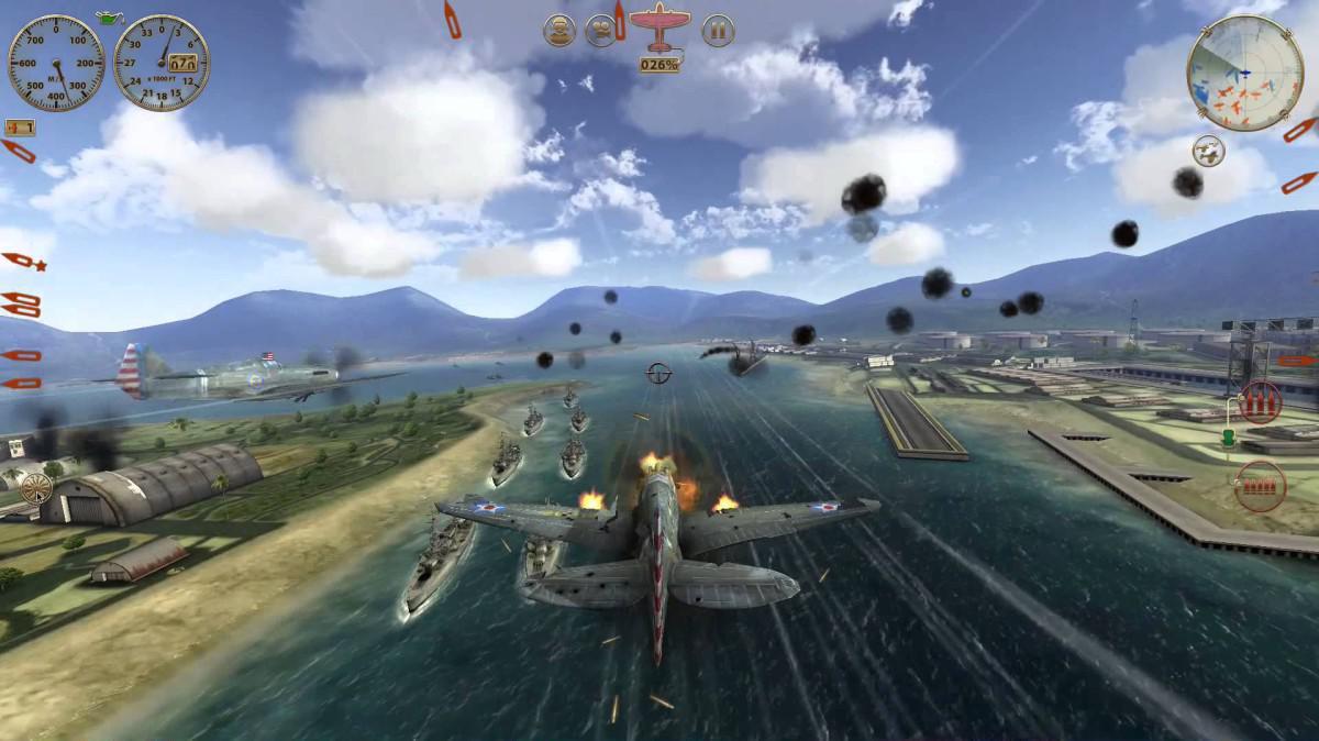 Sky Gamblers - Storm Raiders - arkádová simulace leteckého válčení