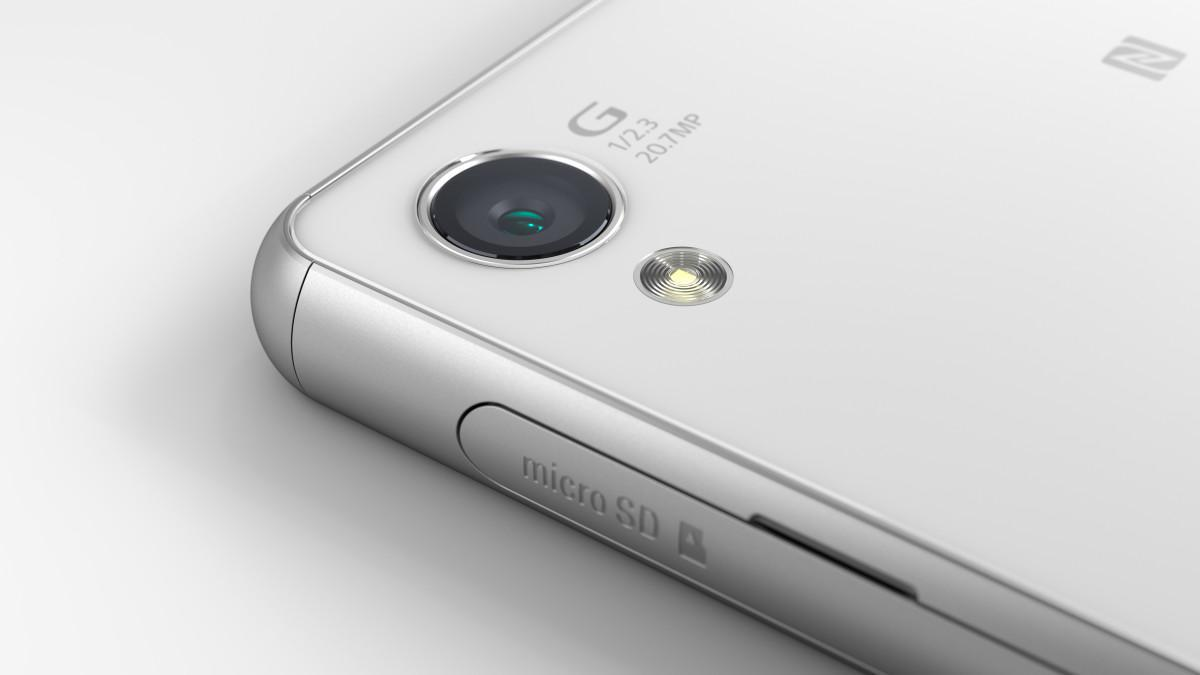 Smartphone Sony Xperia Z3 - detail