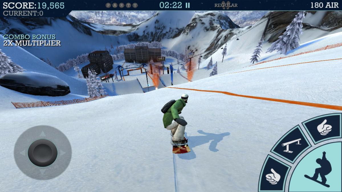Snowboard Party - závody na prknech s vychytanými triky