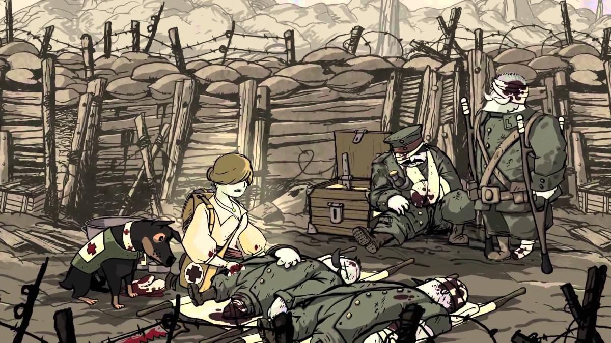 Valiant Hearts - The Great War - kreslená adventura z války