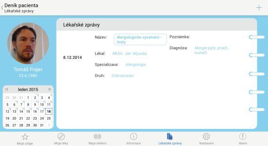 01 - Denik pacienta - Lekarske zpravy
