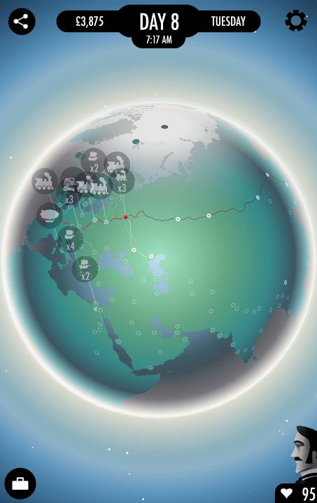 1 - 80 Days - cely svet