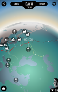 2 - 80 Days - mapa sveta