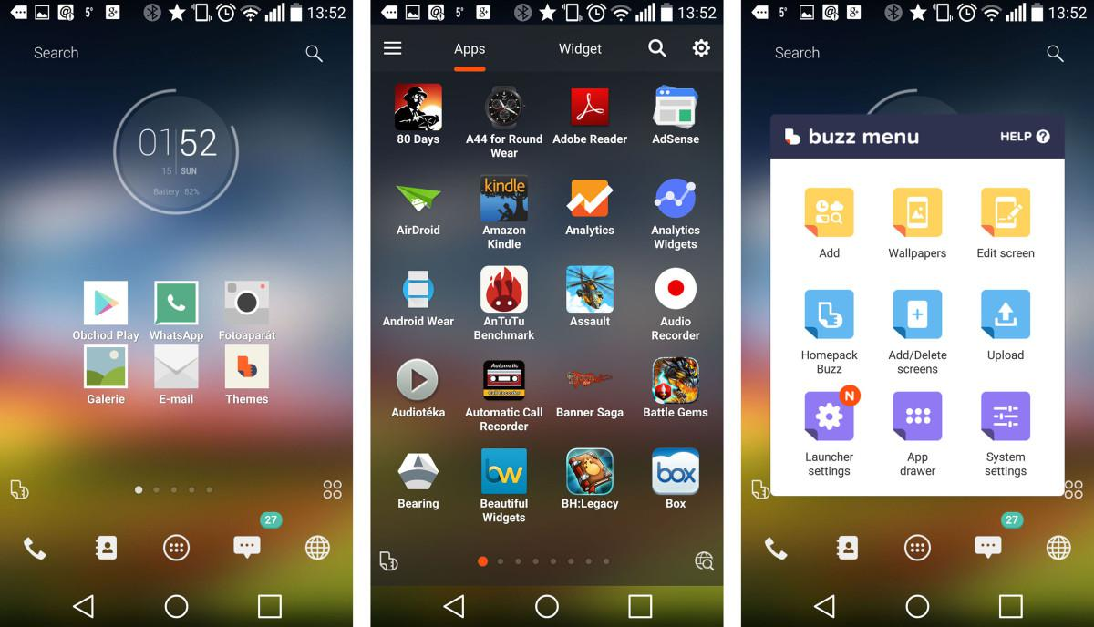 Buzz Android Launcher