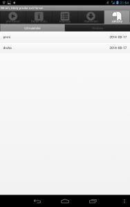 Ctecka knih Audioteka - zalozky 1