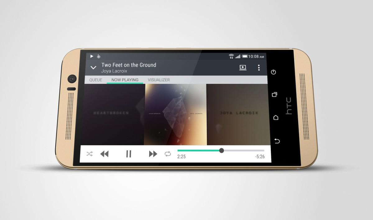 HTC One M9 audio
