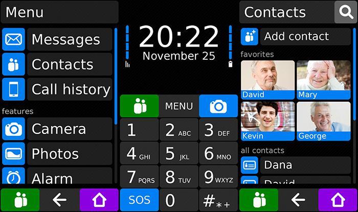 Koala Phone Launcher promění android telefon v jednoduchý mobil pro seniory