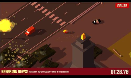 Tank v androidi hre Pako Car Chase Simulator
