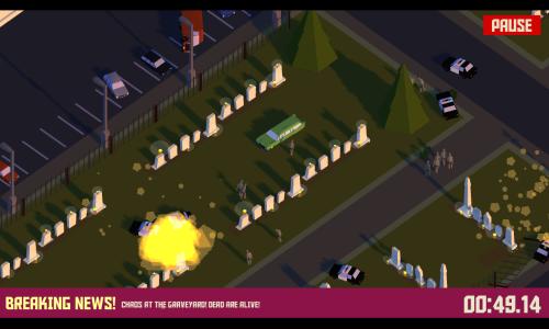 Ve hre Pako Car Chase Simulator budete ujizdet policii