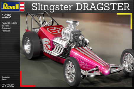 Virtualni model dragsteru monzo