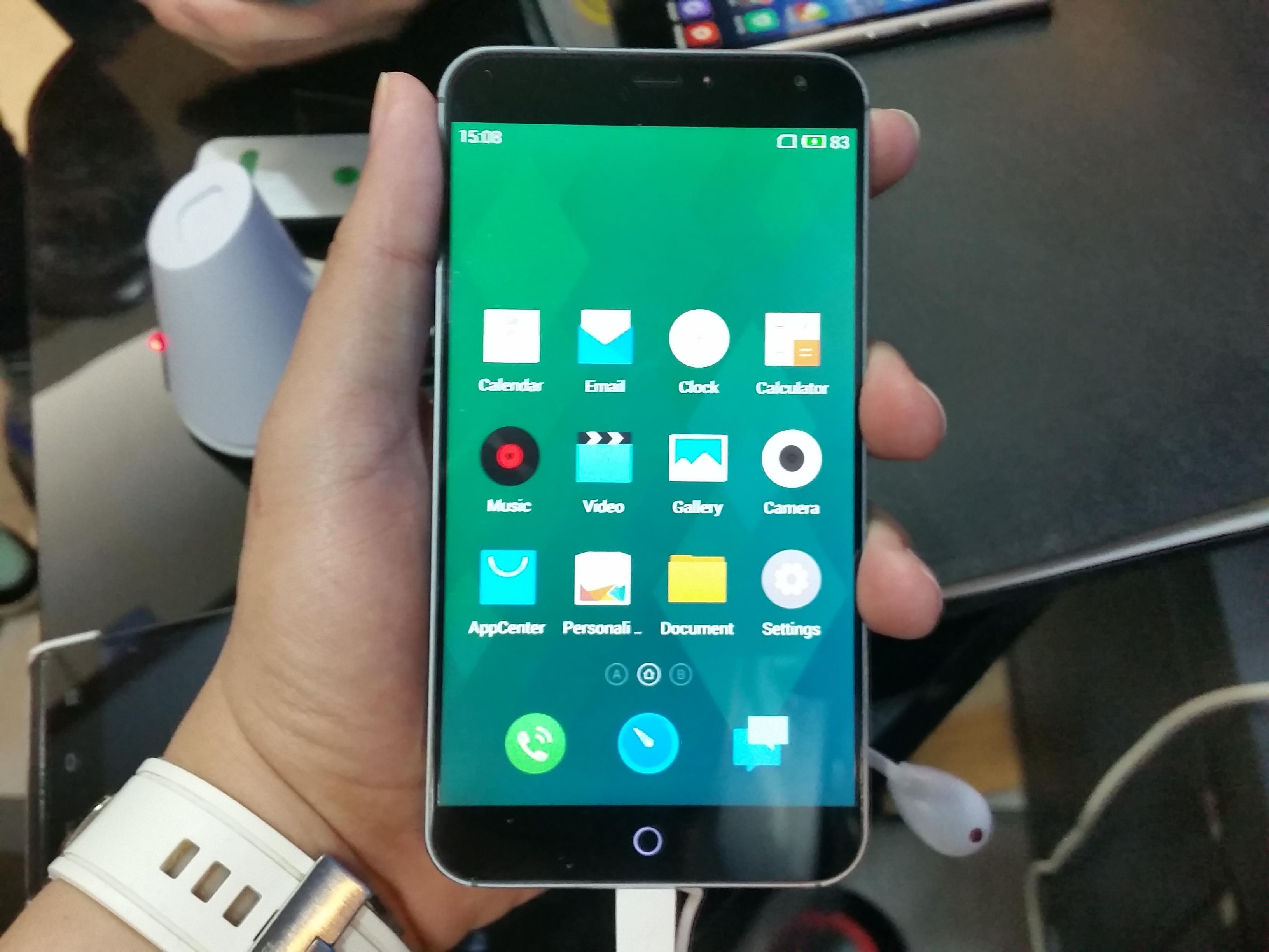 meizu mx4 displej