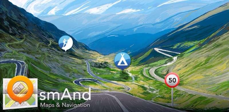 OsmAnd a OpenAndroMaps - offline navigace pro android zdarma