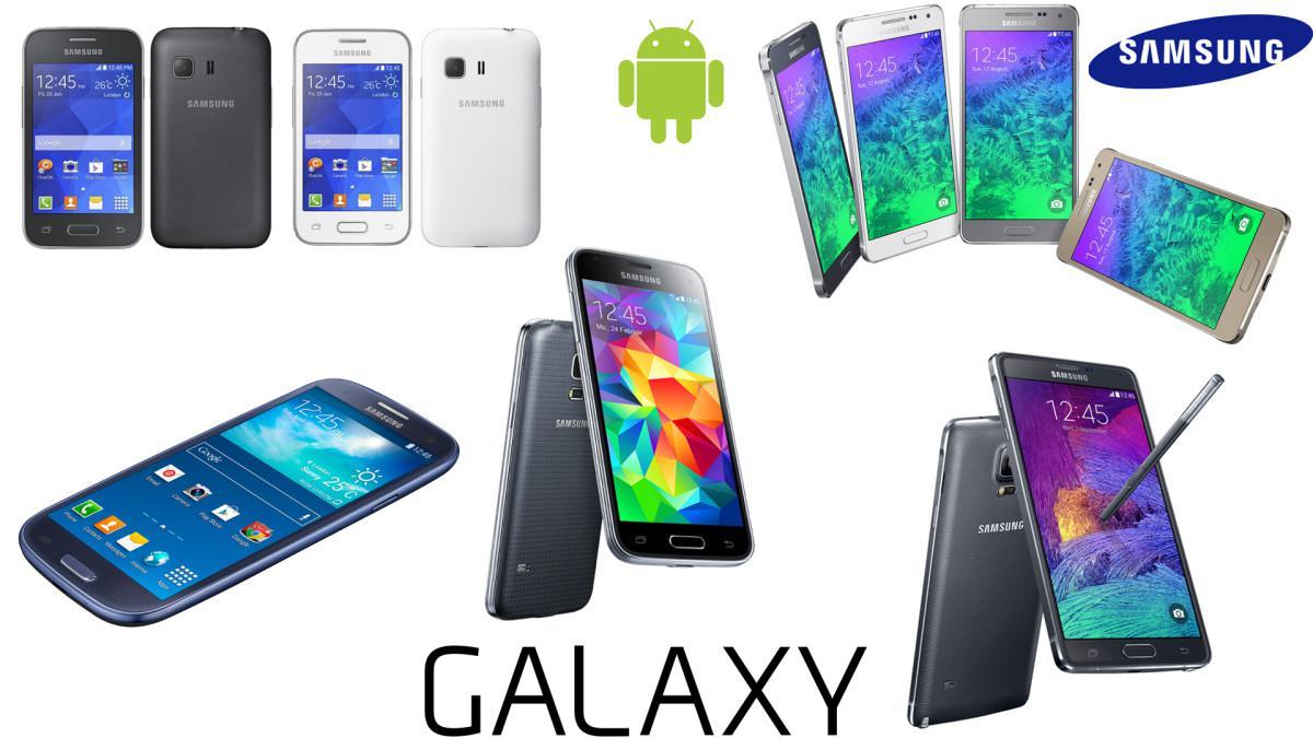 Telefony Samsung přehled 2014