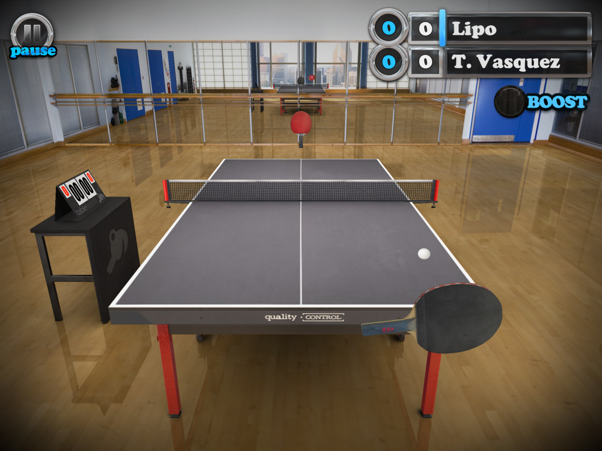 Table Tennis Touch - ping-pong na Android